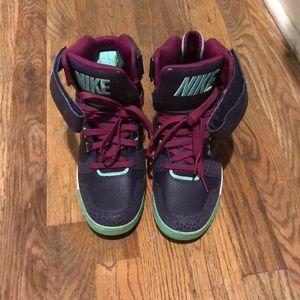 Nike wedge platform sneakers RETRO